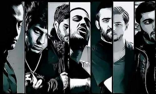 اعضای گروه ملی رپ